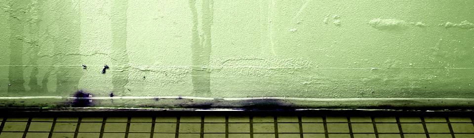 lekkage aan muur